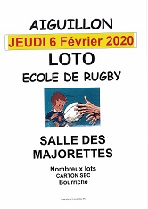 Illustration de « LOTO ECOLE DE RUGBY »